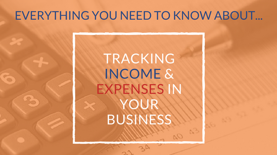 Tracking income and expenses