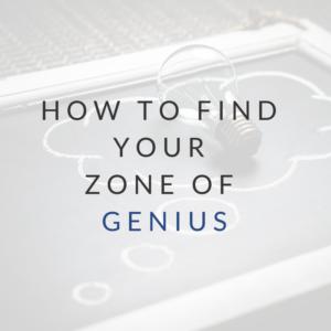 Zone of Genius