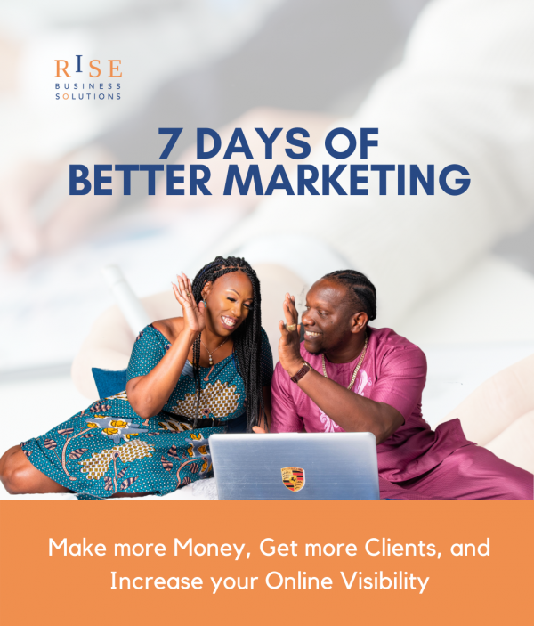 7 days of better marketing