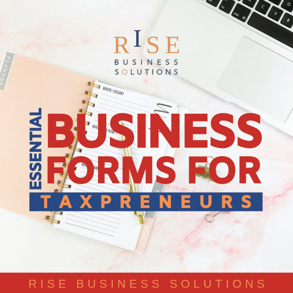 Essential Business Forms for Tax Professionals